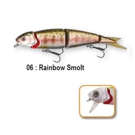 4PLAY 'LIP LURES' - 13cm 06-Rainbow Smolt
