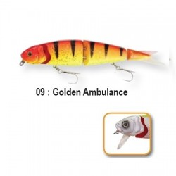 4PLAY 'LIP LURES' - 13cm 09-Golden Ambulance