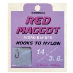 Drennan hak 14 RED MAGGOT + przypon