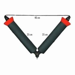 Rolki 25 cm Traper 83069